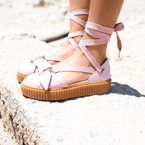 Fenty Puma Bow Creeper Platform Sandals